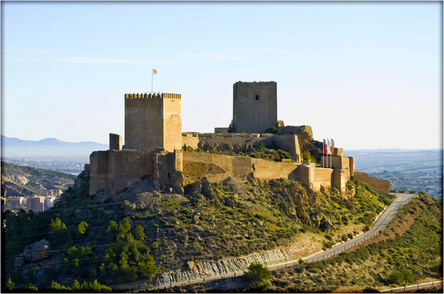 spanjemijnland | Castillo de Lorca - Murcia