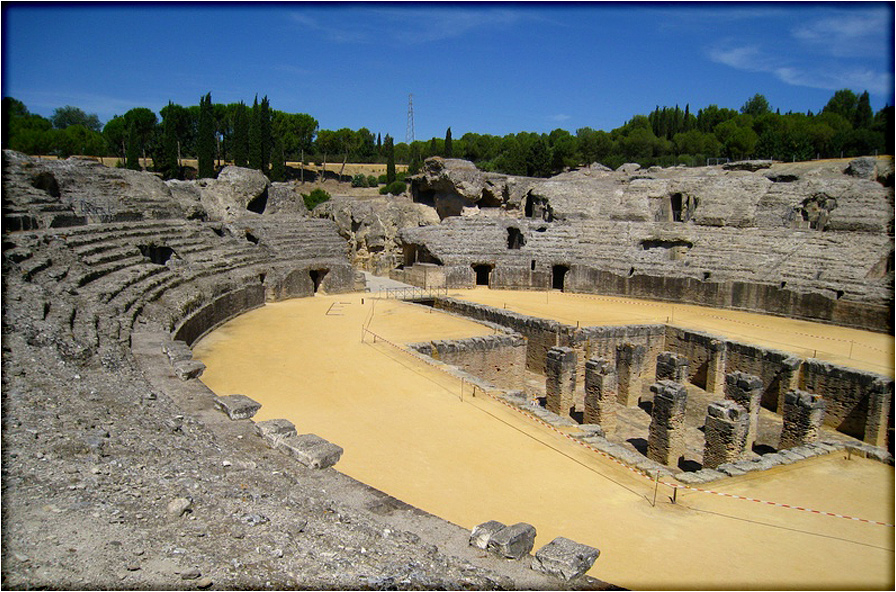 Italica_amphitheatre