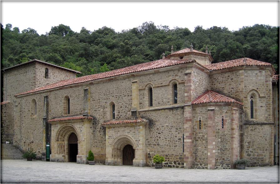 spanjemijnland   Monasterio de Santo Toribio de Liébana - Toribio - Cantabrië