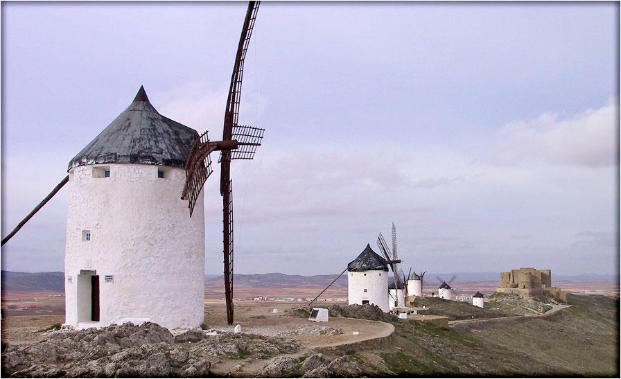 spanjemijnland   Consuegra - Castilië-La Mancha