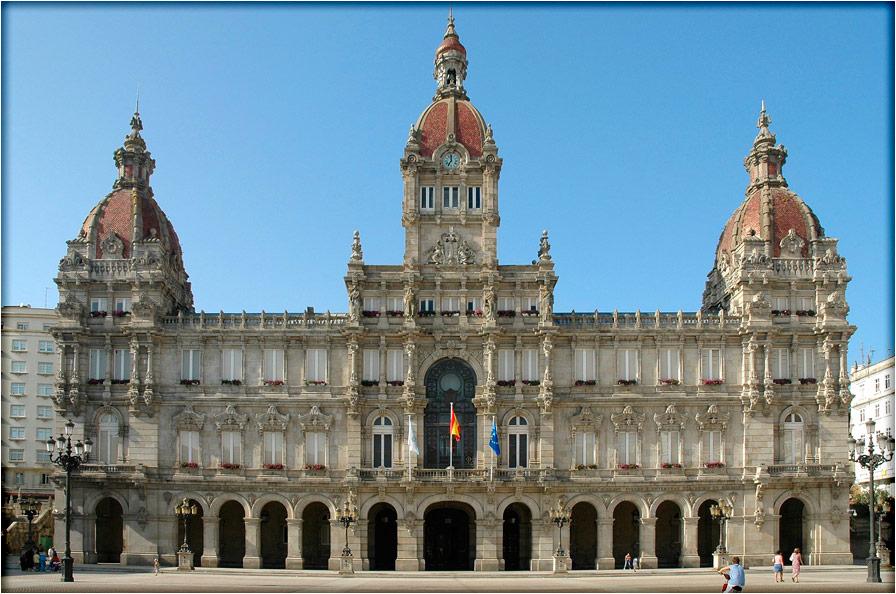 spanjemijnland | Coruña Stadhuis