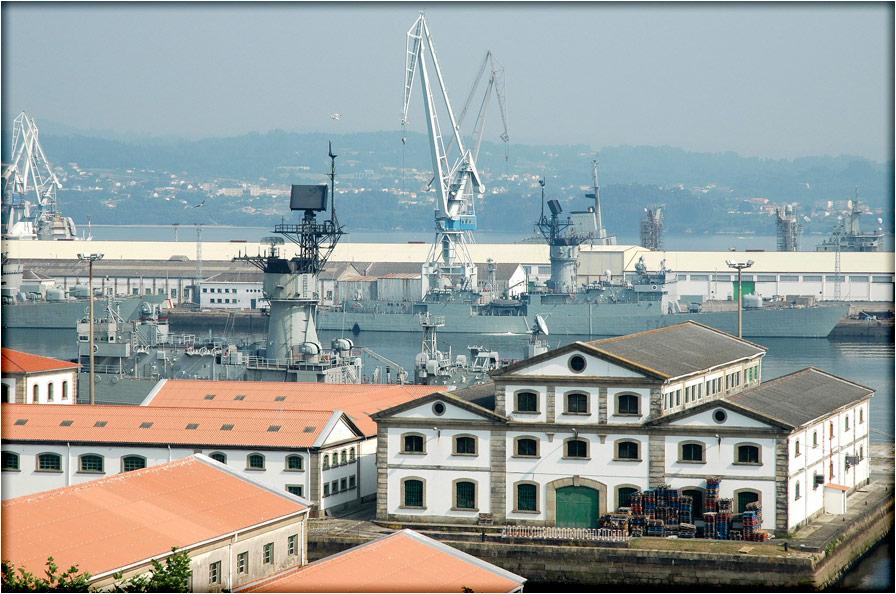 spanjemijnland | haven van Ferrol