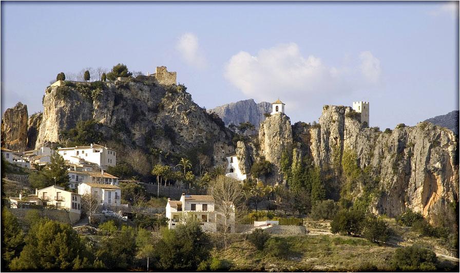 spanjemijnland   Guadalest - Valencia