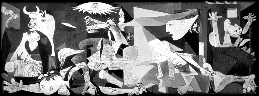 spanjemijnland   Guernica Picasso - Baskenland
