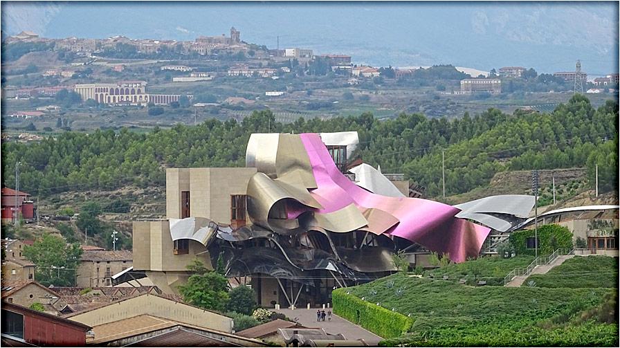 spanjemijnland  Marques Riscal - Elciego - Baskenland
