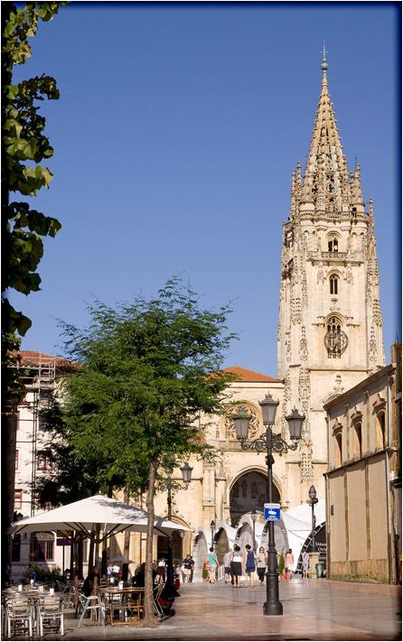 spanjemijnland | kathedraal van Oviedo - Asturië