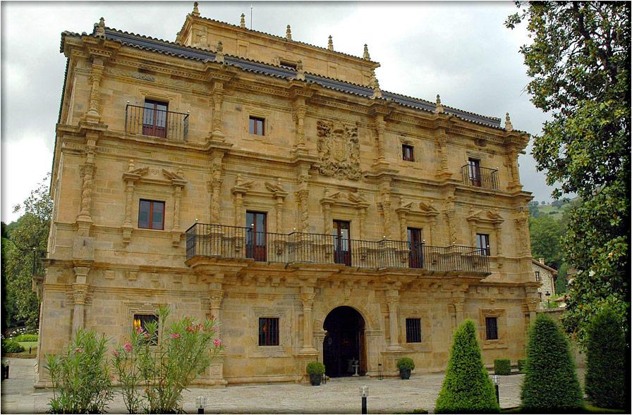spanjemijnland   Palacio de Soñanes - Villacarriedo - Cantabrië