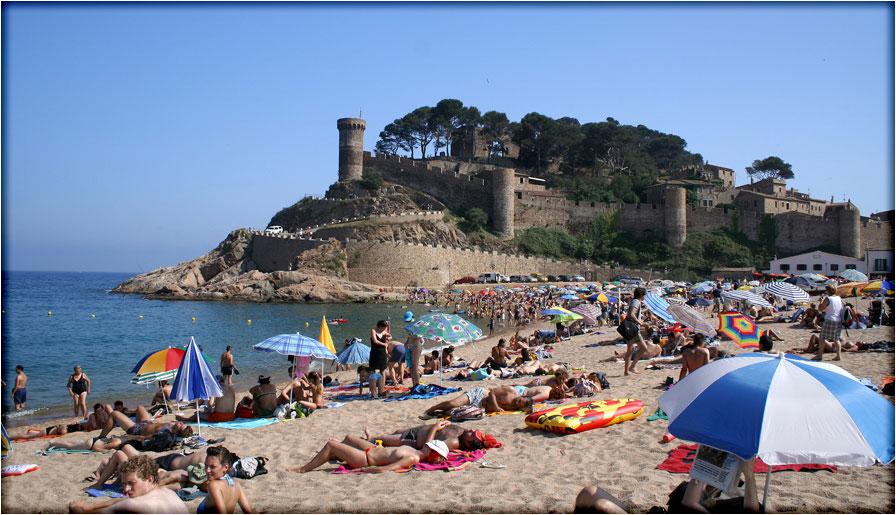 spanjemijnland | Tossa de Mar - Catalonië