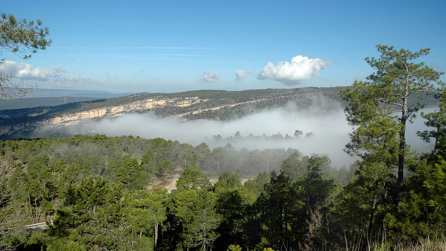 spanjemijnland   CUV-9141 omgeving Buenache de la Sierra
