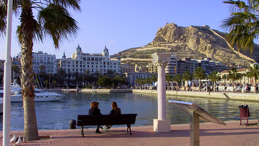 spanjemijnland | de haven van Alicante