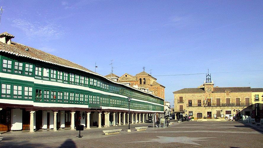 spanjemijnland   Plaza Mayor Almagro
