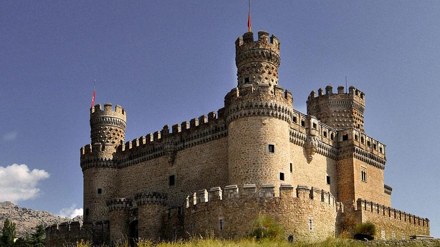 spanjemijnland | Castillo de Manzanares el Real