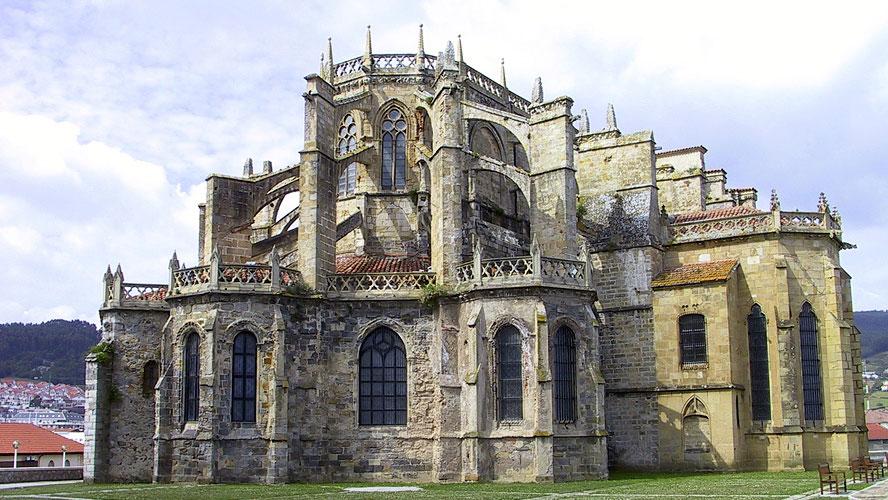 spanjemijnland   Iglesia de Santa Maria - Castro Urdiales