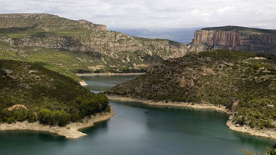spanjemijnland | Embalse de San Antoni - Tremp
