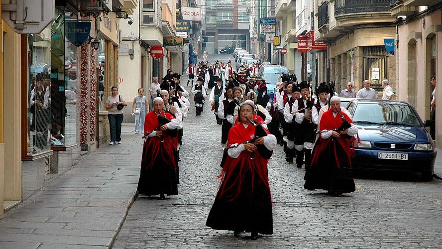 spanjemijnland | Keltische muziek in Ferrol