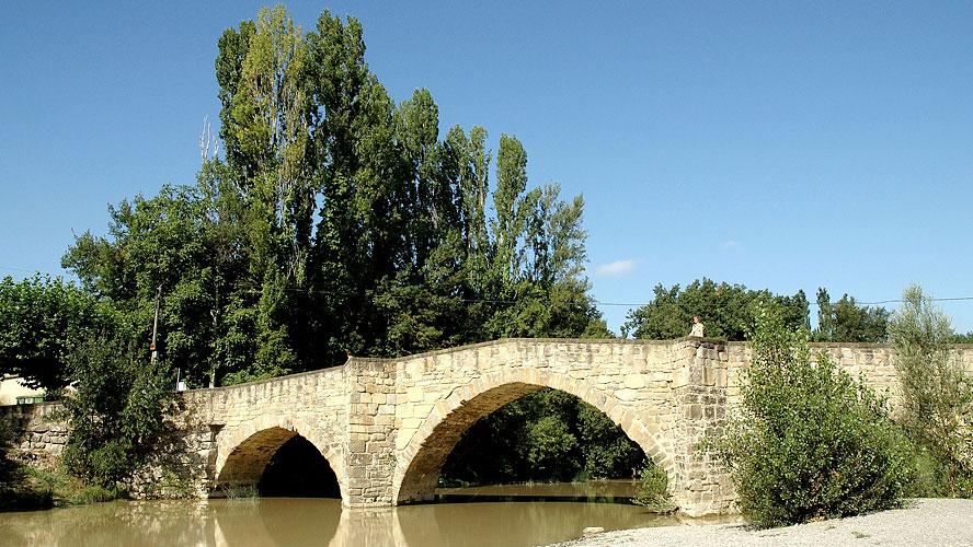 spanjemijnland | romaanse brug bij Lumbier