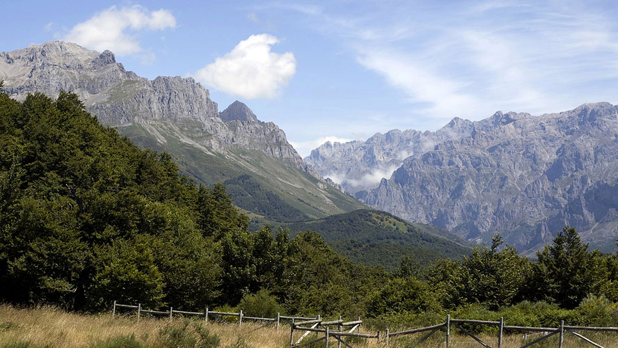 spanjemijnland   N-625 Picos de Europa omgeving Oseja de Sajambre